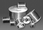 Solder: We produce all alloys in wire, bar, ingot, and cored wire.